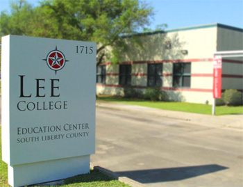 Exterior of the Lee College Education Center - South Liberty County